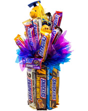Load image into Gallery viewer, Snickers Celebration Chocolate Candy Bouquet | You're not you when you're Hangry