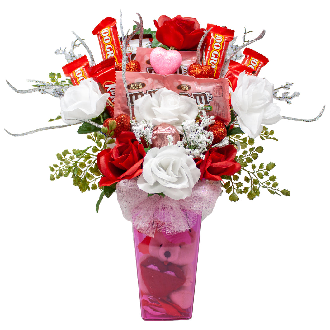 Sparkling Fairy Tale Valentine's Day Candy Bouquet