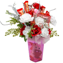 Load image into Gallery viewer, Sparkling Fairy Tale Valentine's Day Candy Bouquet