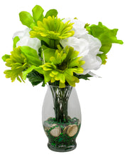 Load image into Gallery viewer, St Patrick's Day Faux Flower Bouquet | Home, Office Décor