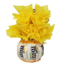 Load image into Gallery viewer, Sunshine Chocolate Candy Bouquet Back 1