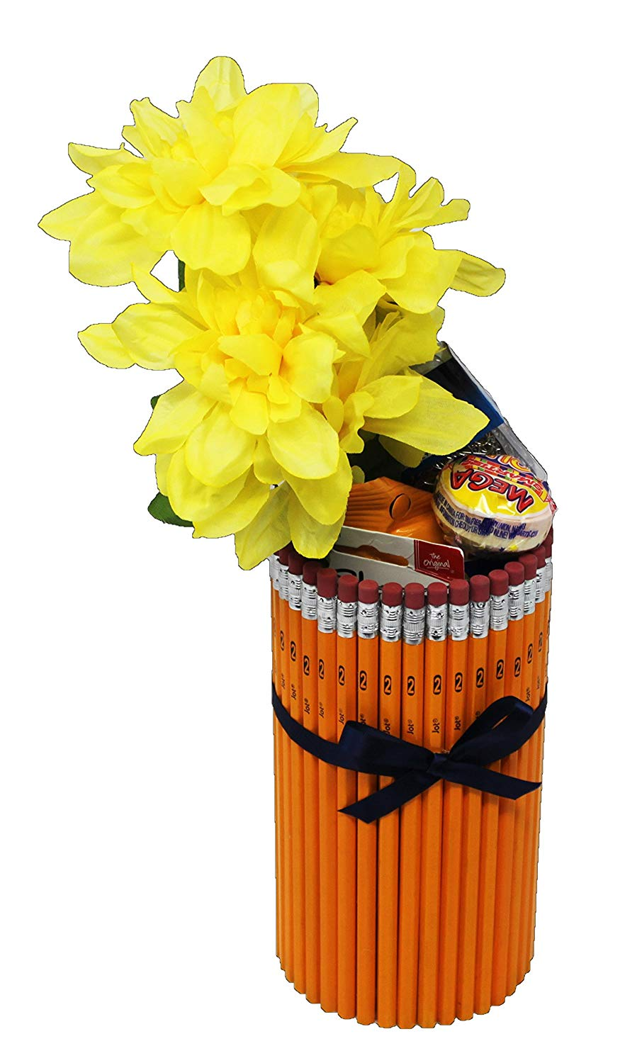 TEACHER APPRECIATION GIFT IN HAND MADE PENCIL VASE