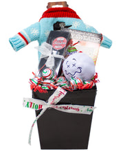 Load image into Gallery viewer, Ugly Sweater for Your Wine Holiday Gift Box Front