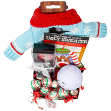 Load image into Gallery viewer, Ugly Sweater for Your Wine Holiday Gift Box Top