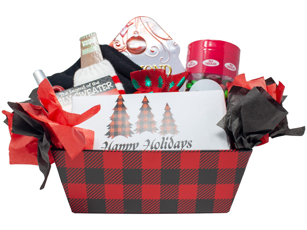 Ugly Sweaters and Sweets Xmas Gift Front