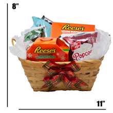 Load image into Gallery viewer, Ultimate White Elephant Gift Basket Dimensions