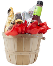 Load image into Gallery viewer, Bloody Mary Mix Gift Set With Mixer Card, Pretzels, Rim Salt, Asparagus, Olives, Pepperoni Straws