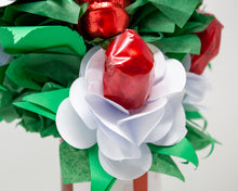 Load image into Gallery viewer, Valentine's Day Handcrafted Paper Roses & Chocolates Bouquet