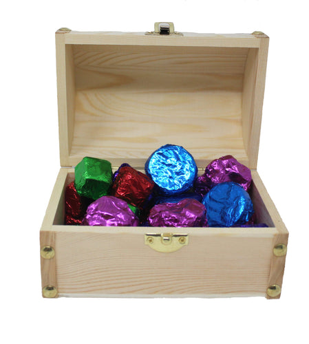 You are my treasure assorted chocolates gift box image showing open box with contents inside