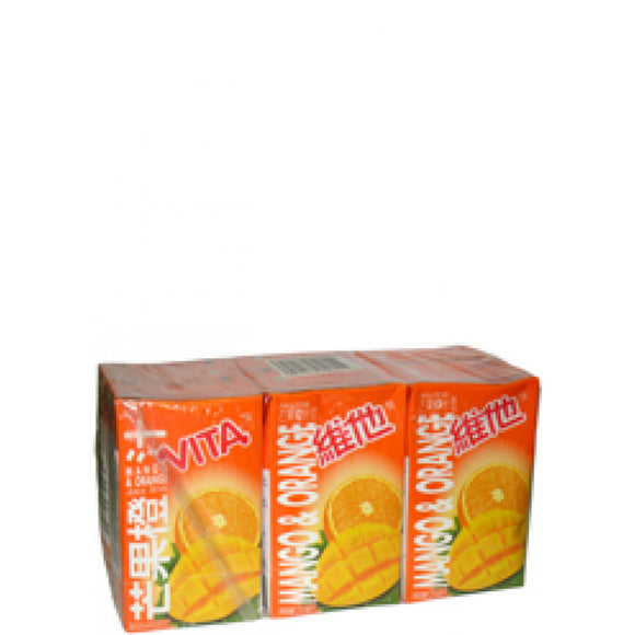 Vita Mango & Orange Juice Drink 6x250ml(維他芒果橙汁)