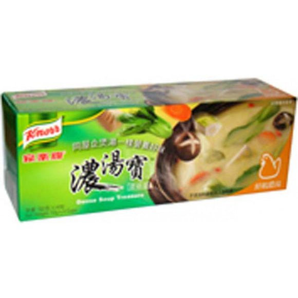 Knorr Dense Soup Base(Chicken Flav)4 pcs 128g 家樂牌鮮雞濃湯寶