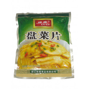 Lulu Pickled Turnip Slice 150g / 绿鹿盘菜片 150克