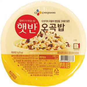 CJ Microwavable Cooked Rice 5 Grain 210g / 韩式微波炉加热杂粮饭 210克