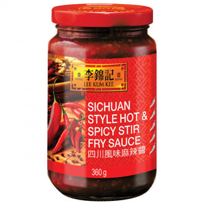 Lee Kum Kee Sichuan Style Hot&Spicy Stir Fry Sauce 360g / 李锦记 四川风味麻辣酱 360克