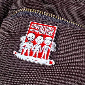 Collector Pin: Sam, Jared and Dan in Boat (LIMITED RELEASE)
