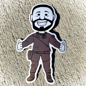 Vinyl Stickers: Sam, Jared and Dan Characters