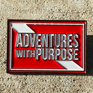 Collector Pins: Adventures With Purpose Soft Enamel Pin