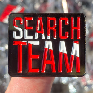 Collector Pins: SEARCH TEAM
