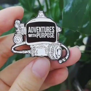 Collector Pin: Adventures With Purpose Dive Mask (LIMITED RELEASE)