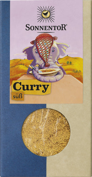 Sonnentor Curry sweet, pack, 50g - firstorganicbaby