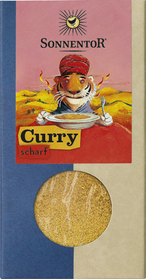 Sonnentor Curry scharf, Packung, 50g - firstorganicbaby