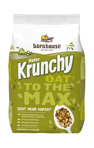 Barnhouse Krunchy OAT TO THE MAX 500g, 500g - firstorganicbaby