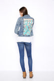Denim customized Jacket
