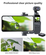 Load image into Gallery viewer, Mini Wide Angle Macro Lens for Dji Osmo Pocket 10X HD 4K Macro Lens Gimbal Accessories Magnetic Ulanzi OP-5 OP-6 Lenses