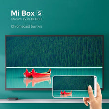 Load image into Gallery viewer, Xiaomi Mi Box S Smart TV Box Android 9.0 4K Ultra HD HDR 2G 8G WiFi Google Cast Netflix Media Player Smart Control Set Top Box