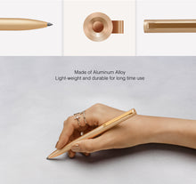 Load image into Gallery viewer, Original Xiaomi Mijia Metal Sign Pens PREMEC Smooth Switzerland Refill 0.5mm Signing Pens Mi Aluminum Alloy Pens Black Ink