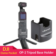 Load image into Gallery viewer, Tripod Charging Base Fixed Holder Stand 1/4'' Screw with USB Type-C Port for DJI Osmo Pocket Camera