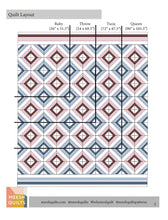Load image into Gallery viewer, Boho Mod Quilt Pattern- PDF