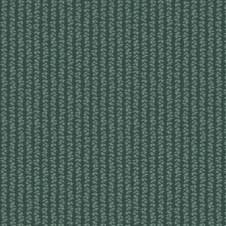 Laurel Stripe - Hunter Fabric
