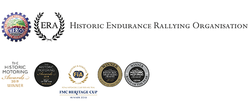 Historic Endurance Rallying Organisation Hero Events Endurorally Emblems