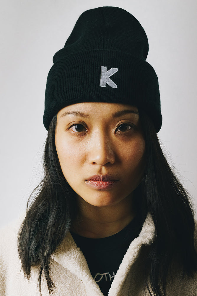 Becoming Who We Are K Logo Beanie