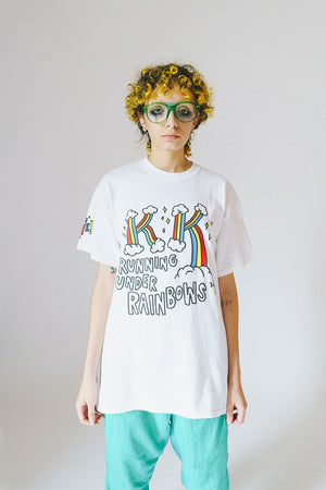 Load image into Gallery viewer, Beyond Control Running Under Rainbows Tee