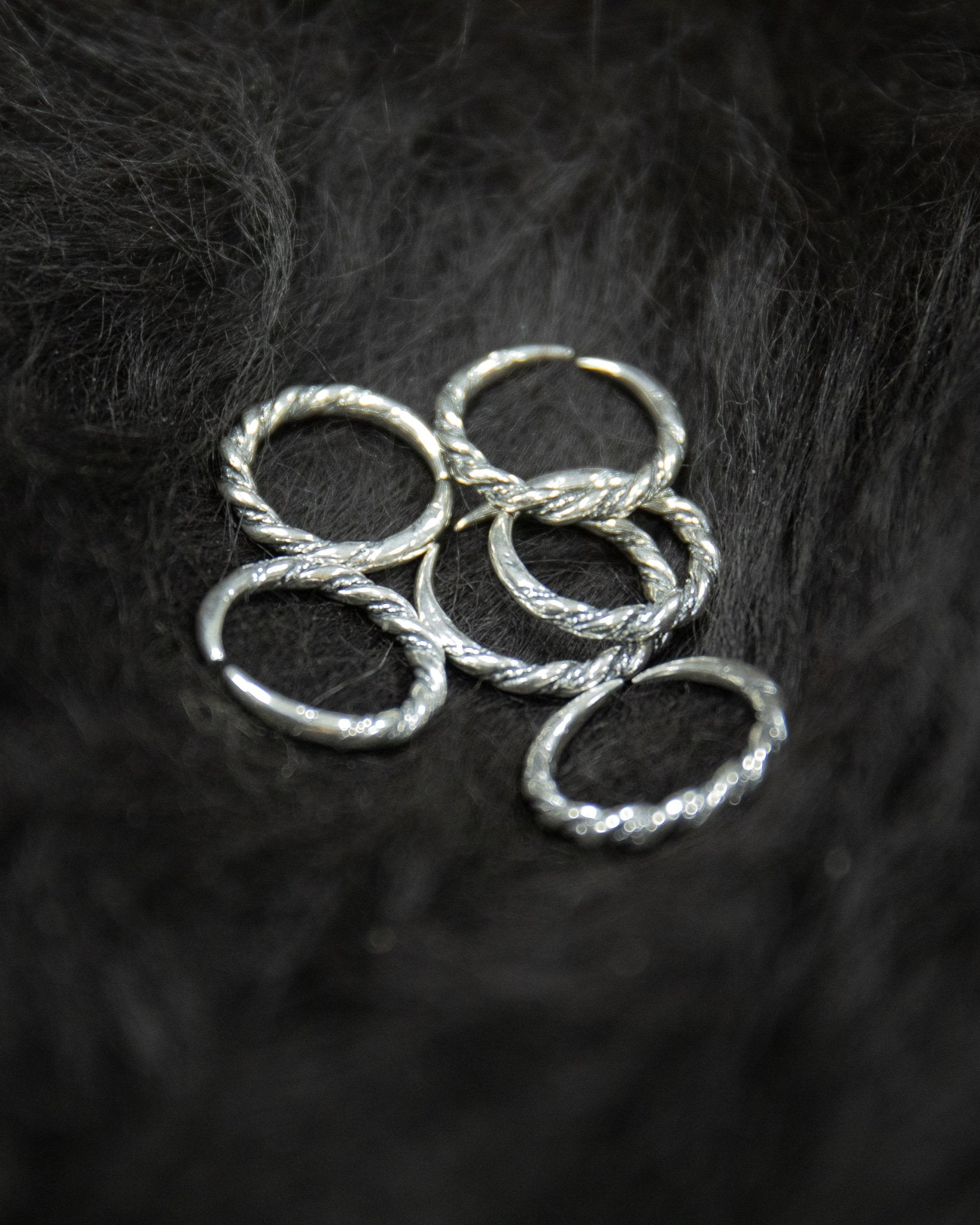 Jorvik Twist Ring - Silfr