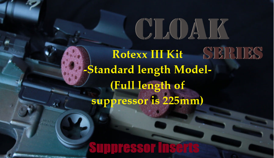 Cloak Series for the Rotex III(for standard length 225mm model)