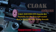 Load image into Gallery viewer, Cloak Series for the G&G SOCOM OTS suppressor(non-QD model)