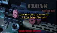 Load image into Gallery viewer, Cloak Series for the G&G SOCOM OTS suppressor(QD model)