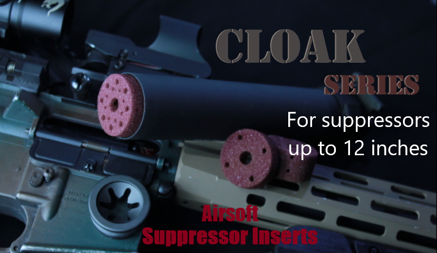 Cloak Series Insert Kits (For up to 12 inch suppressors)