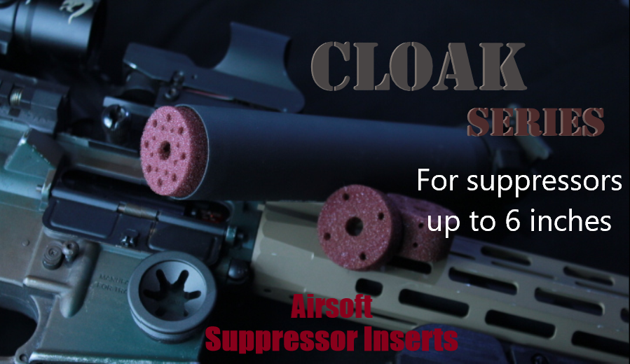 Cloak Series Insert Kits (For up to 6 inch suppressors)