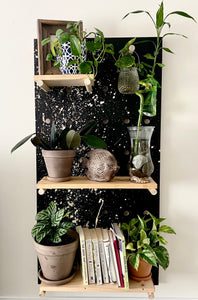 Handmade bookshelf / plant shelf (Large)