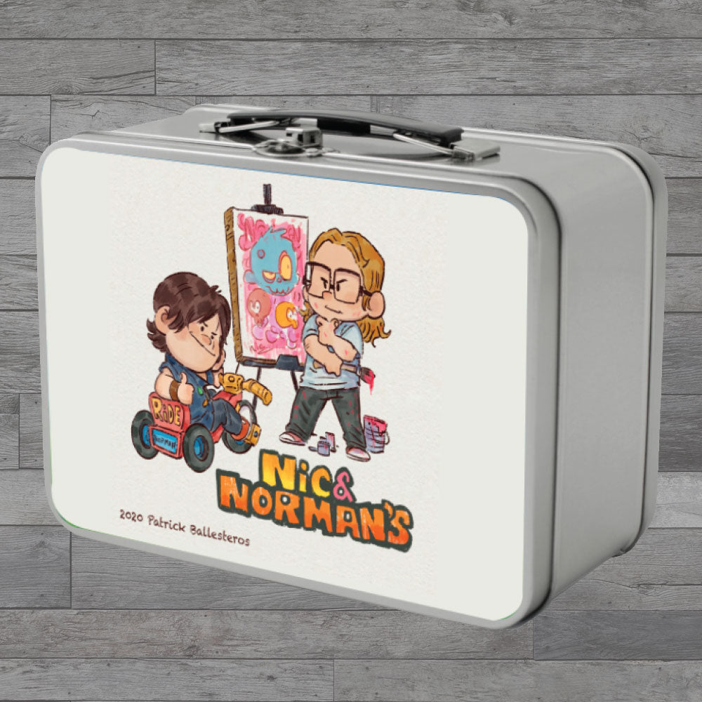 WS-Lil' Nic & Norman Retro Lunchbox (24pc min)