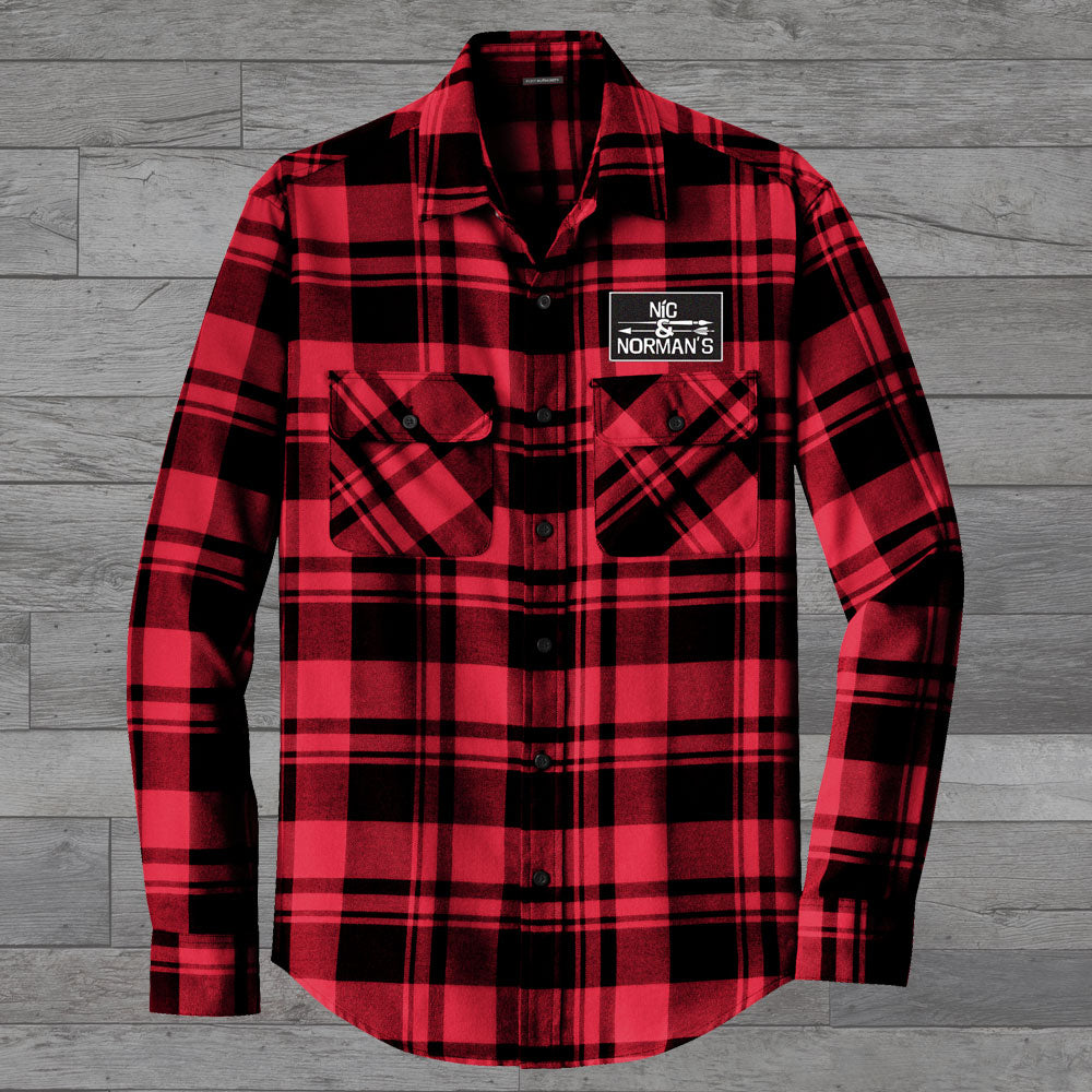 Nic & Norman's Patch Flannel