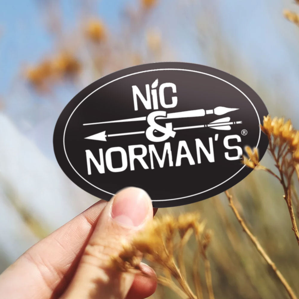 Nic & Norman's Sticker