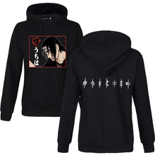 Load image into Gallery viewer, Naruto Itachi & Villages Hoodie