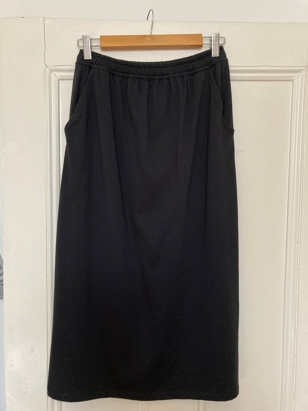 Dorsu Cotton Long Line Skirt