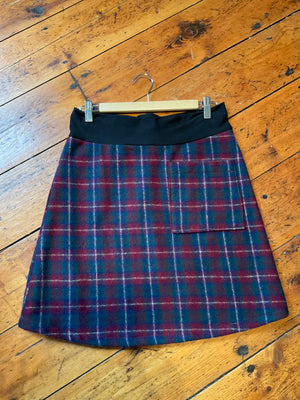 MiM Wool Pocket Skirt