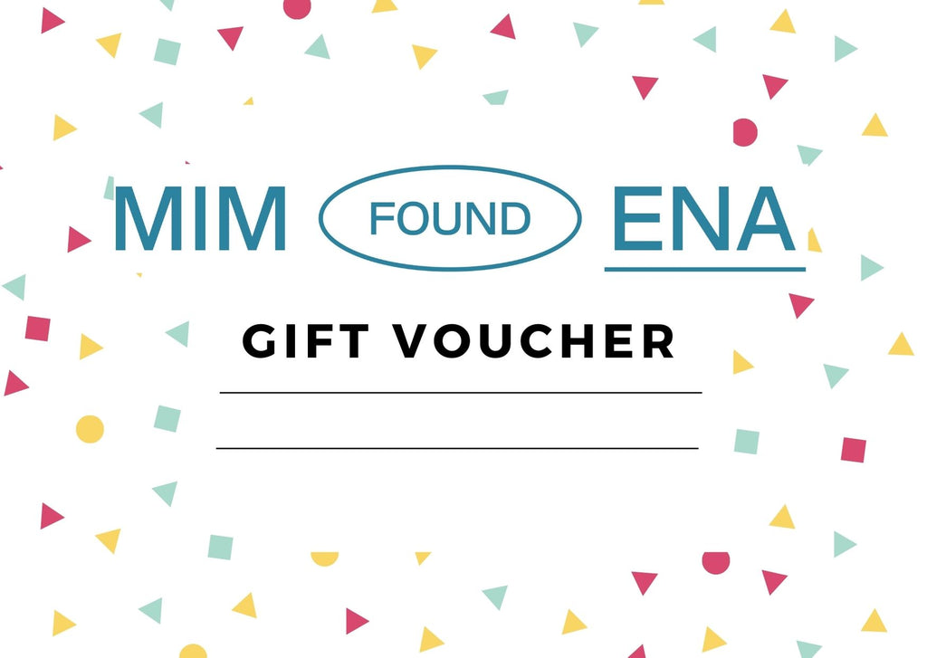 MiM Found Ena Gift Certificate